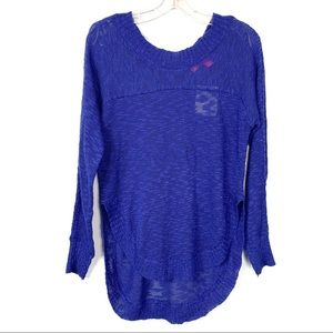 Rebellious One NEW Blue Sweater Size M